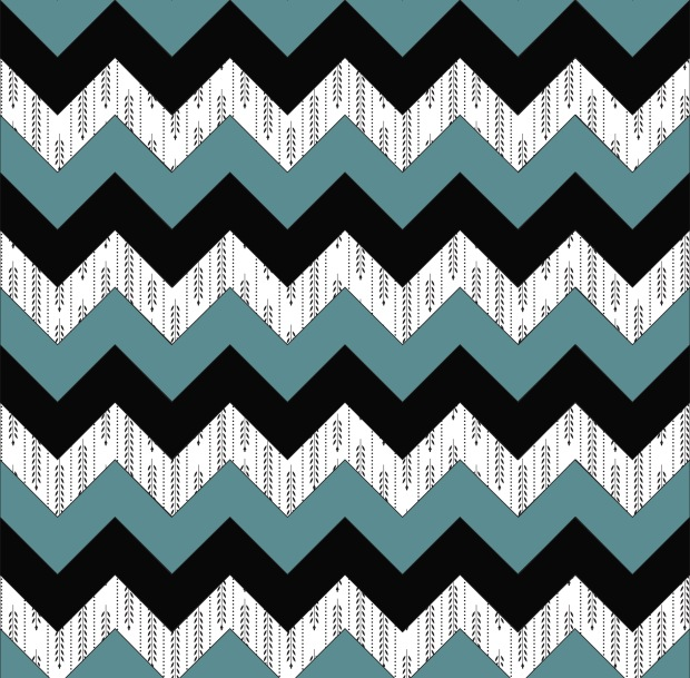 greenblackpatternchevron
