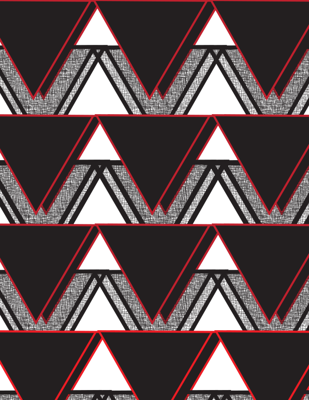 redtrianglepattern